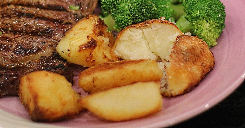 Duck 'n' Dexter Roast Potatoes - flavoursome and fluffy