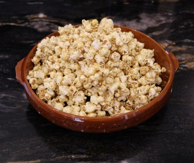 Ras-el-hanout and Maple Syrup Popcorn