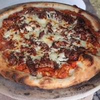 Cooking Pizza With a Big Green Egg