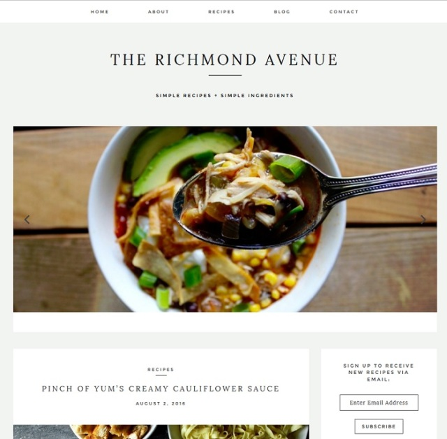 The Richmond Avenue food blog