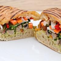Banh Mi Panini - A Vietnamese Sandwich