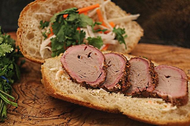 Simply Zensational Vietnamese Banh Mi sandwich