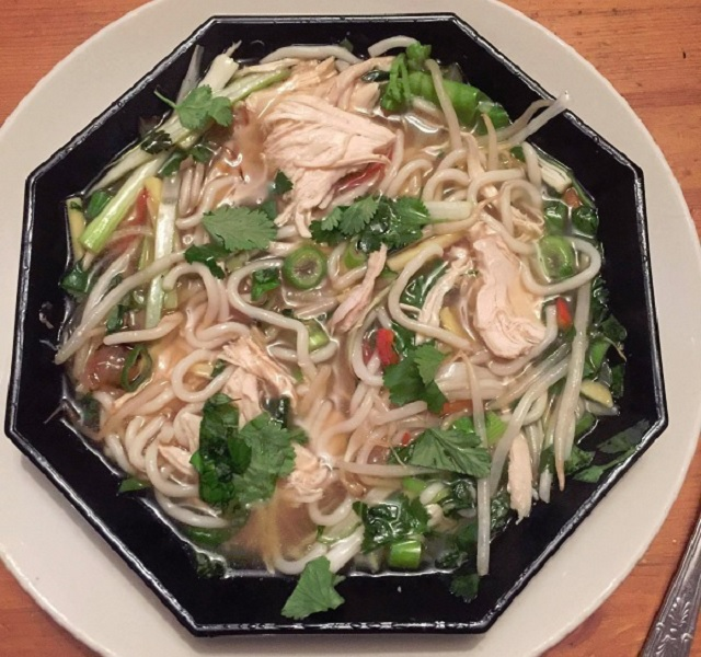 Rosey's Vietnamese chicken noodle soup