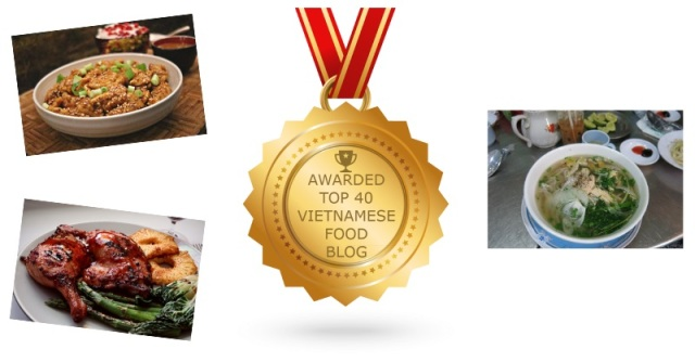 Top 40 Vietnamese Food Blog Award