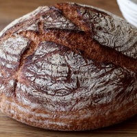 Inverted Dutch Oven Bread