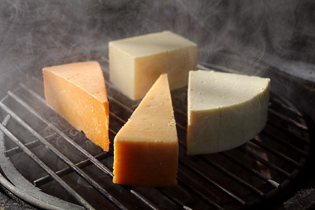 The cheeses at the start of smoking ...