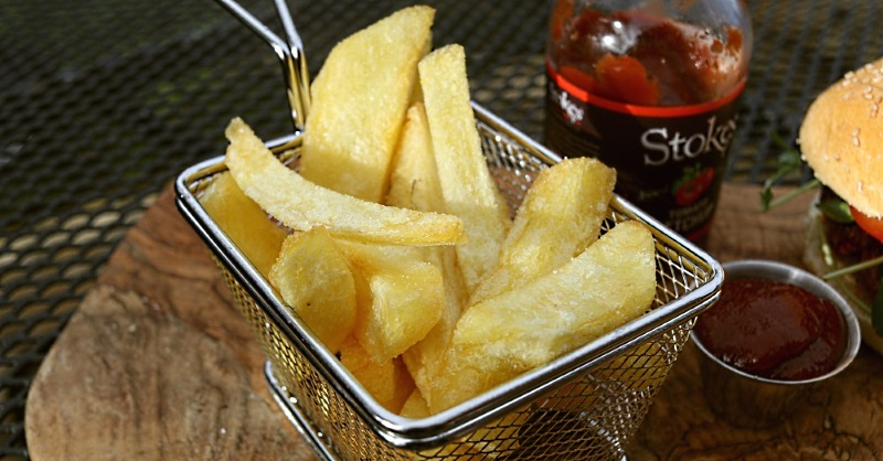 Chips / fries made with Ramos potatoes